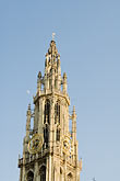 steeple stock photography | Belgium, Antwerp, Cathedral of Our Lady, Onze Lieve Vrouwekathedraal, image id 8-744-2186
