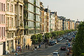 horizontal stock photography | Belgium, Antwerp, Row of houses, Plantonkaai, image id 8-744-2210