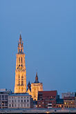 steeple stock photography | Belgium, Antwerp, Cathedral of Our Lady, Onze Lieve Vrouwekathedraal, image id 8-744-2271