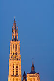 steeple stock photography | Belgium, Antwerp, Cathedral of Our Lady, Onze Lieve Vrouwekathedraal, image id 8-744-2276