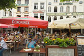 europe stock photography | Belgium, Antwerp, Outdoor Cafe, Grote Markt, image id 8-744-2474