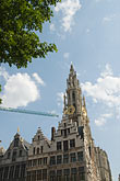 steeple stock photography | Belgium, Antwerp, Cathedral of Our Lady, Onze Lieve Vrouwekathedraal , image id 8-745-2555