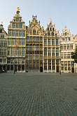 vertical stock photography | Belgium, Antwerp, Grote Markt, Guild houses , image id 8-745-2573