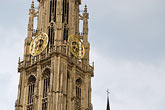 steeple stock photography | Belgium, Antwerp, Cathedral of Our Lady, Onze Lieve Vrouwekathedraal , image id 8-745-2761