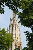 church of our lady stock photography | Belgium, Antwerp, Cathedral of Our Lady, Onze Lieve Vrouwekathedraal , image id 8-745-2798