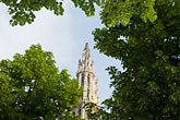 steeple stock photography | Belgium, Antwerp, Cathedral of Our Lady, Onze Lieve Vrouwekathedraal , image id 8-745-2801