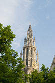 steeple stock photography | Belgium, Antwerp, Cathedral of Our Lady, Onze Lieve Vrouwekathedraal , image id 8-745-2804