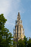 steeple stock photography | Belgium, Antwerp, Cathedral of Our Lady, Onze Lieve Vrouwekathedraal, image id 8-745-2806