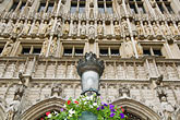 europe stock photography | Belgium, Brussels, Town Hall, Grand Place , image id 8-746-2641