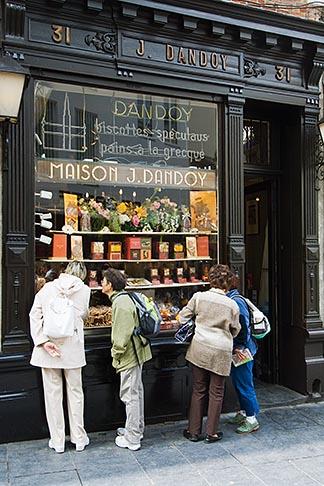 image 8-746-2727 Belgium, Brussels, Biscuit shop, Biscuiterie, Rue au Beurre
