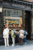 biscuit shop stock photography | Belgium, Brussels, Biscuit shop, Biscuiterie, Rue au Beurre, image id 8-746-2727