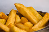 fried stock photography | Belgium, Brussels, Frites, Fried potatoes, image id 8-746-2758