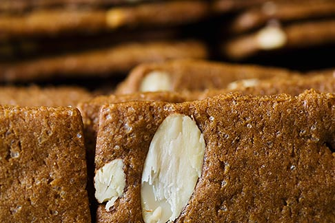 image 8-746-2854 Belgium, Brussels, Almond bread