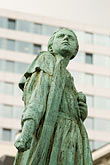 europe stock photography | Belgium, Brussels, Statue of Gabrielle Petit, 1893-1916, Belgian WW1 heroine, image id 8-747-2852