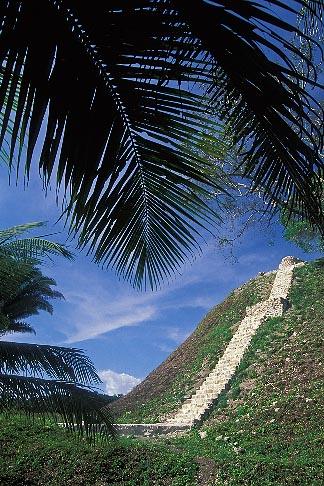 image 6-86-36 Belize, Mayan Sites, Pyramid, Altun Ha