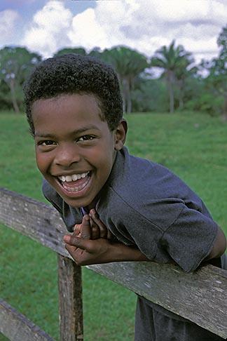 image 6-91-8 Belize, Belmopan, Young boy