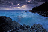 tranquil stock photography | Bermuda, Surf and rocks, image id 1-600-4