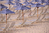 calm stock photography | Bermuda, Elbow Beach, umbrellas, image id 1-600-7