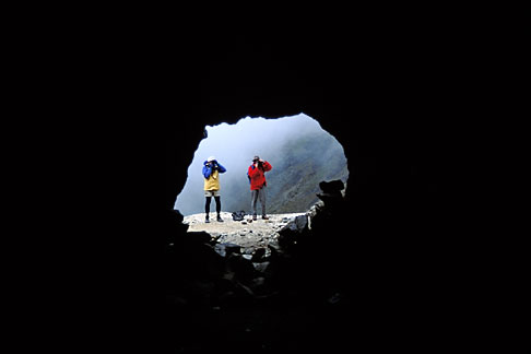 image 3-116-32 Bolivia, Andes, From inside the San Francisco mine, Taquesi