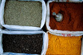 curry stock photography | Bolivia, La Paz, Spices for sale in market, image id 3-119-14