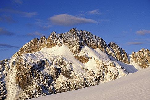 image 3-124-6 Bolivia, Andes, Maria Lloco seen from Huayna Potosi