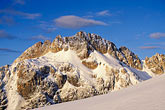 winter stock photography | Bolivia, Andes, Maria Lloco seen from Huayna Potosi, image id 3-124-6