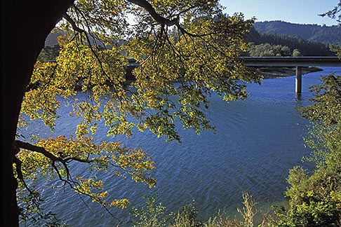 image 0-341-53 California, Russian River, Fall colors, Duncan Mills