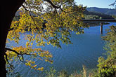 bay stock photography | California, Russian River, Fall colors, Duncan Mills, image id 0-341-53