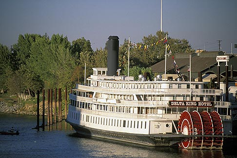 image 1-650-18 California, Sacramento, Delta King Steamboat