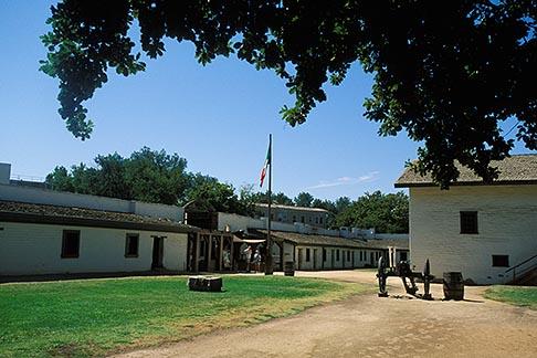 image 1-650-84 California, Sacramento, Sutters Fort