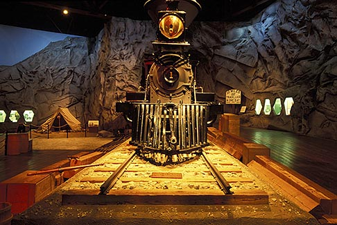 image 1-651-26 California, Sacramento, California State Railroad Musuem