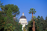 blue sky stock photography | California, Sacramento, California State Capitol, image id 1-652-23
