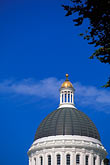blue sky stock photography | California, Sacramento, California State Capitol, image id 1-652-9