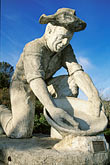 vertical stock photography | California, Auburn, Statue of Gold Miner, image id 1-668-9