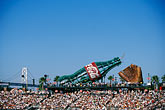 multitude stock photography | California, San Francisco, SBC Park, bleachers, image id 1-690-51