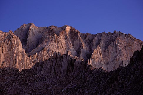 image 2-114-13 California, Mt Whitney, South face of Mt Russell