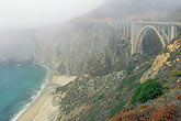 pacific ocean coastline stock photography | California, Big Sur, Bixby Bridge, image id 2-630-64