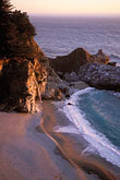 sand stock photography | California, Big Sur, Julia Pfeiffer Burns State Park, waterfall, image id 2-645-15