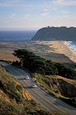 curved stock photography | California, Big Sur, Point Sur, image id 2-645-48