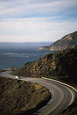 curved stock photography | California, Big Sur, Pacific Coast Highway , image id 2-645-89