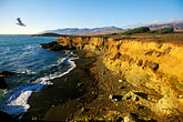 cliff stock photography | California, San Luis Obispo County, Coast south of Ragged Point , image id 2-650-79