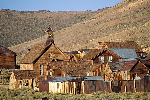 image 3-296-34 California, Sierra Nevada, Bodie State Historical Park