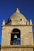 vertical stock photography | California, Carmel, Carmel Mission Church Belltower, image id 3-318-10