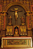 vertical stock photography | California, Carmel, Main altar, Carmel Mission Church, image id 3-320-28