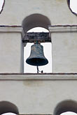 colonial stock photography | California, Missions, Belltower, Mission San Juan Bautista, image id 3-323-2