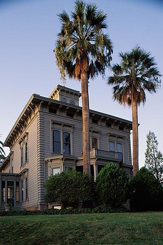 image 3-340-1 California, Contra Costa, Exterior, John Muir House, Martinez