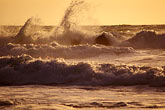 sunset at beach stock photography | California, Point Reyes, Surf at Limantour Beach, image id 3-62-28