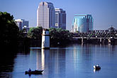 downtown skyscraper stock photography | California, Sacramento, Fishing on the Sacramento River, image id 4-315-13