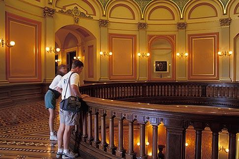 image 4-317-23 California, Sacramento, Mezzanine, State Capitol Building