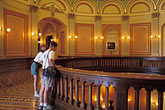 travel stock photography | California, Sacramento, Mezzanine, State Capitol Building, image id 4-317-23